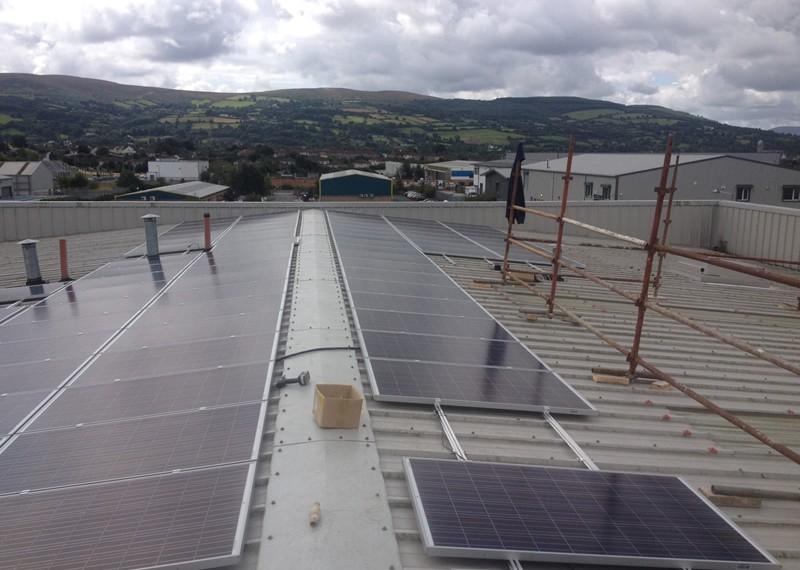 Clonmel Machinery Yard Commercial Solar Energy