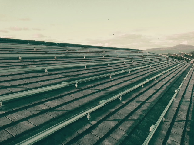 Retro Fit Solar Panels Clonmel Fire Station