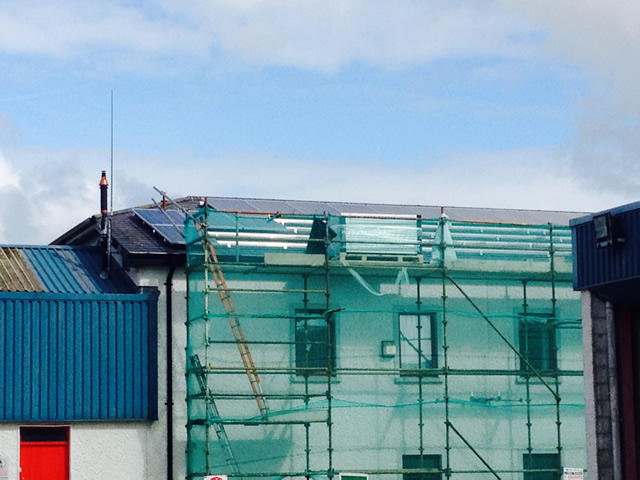 Retro Fit Solar Panels Clonmel Fire Station