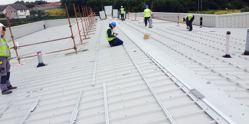 Commercial Solar Panel Fit Out