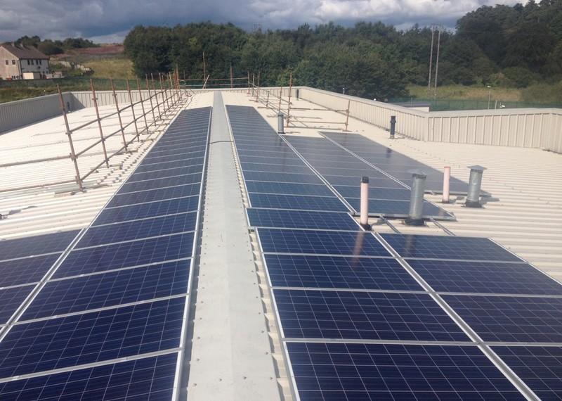 Clonmel Machinery Yard Commercial Solar Panels
