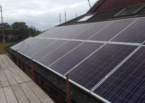 Solar panels at Nenagh Library2