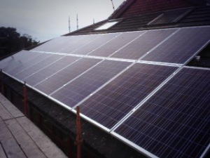 Solar panels at Nenagh Library3