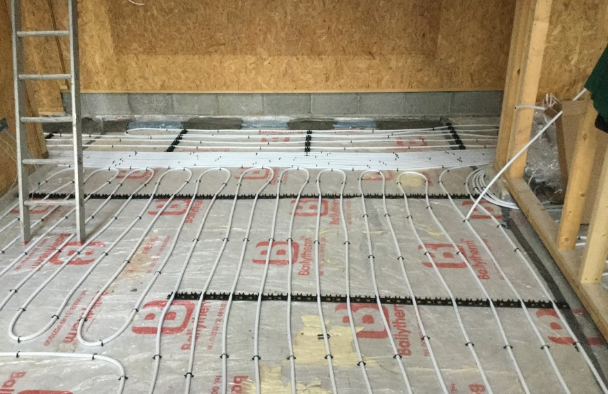 Underfloor Heating New Build | Sola Eco Build