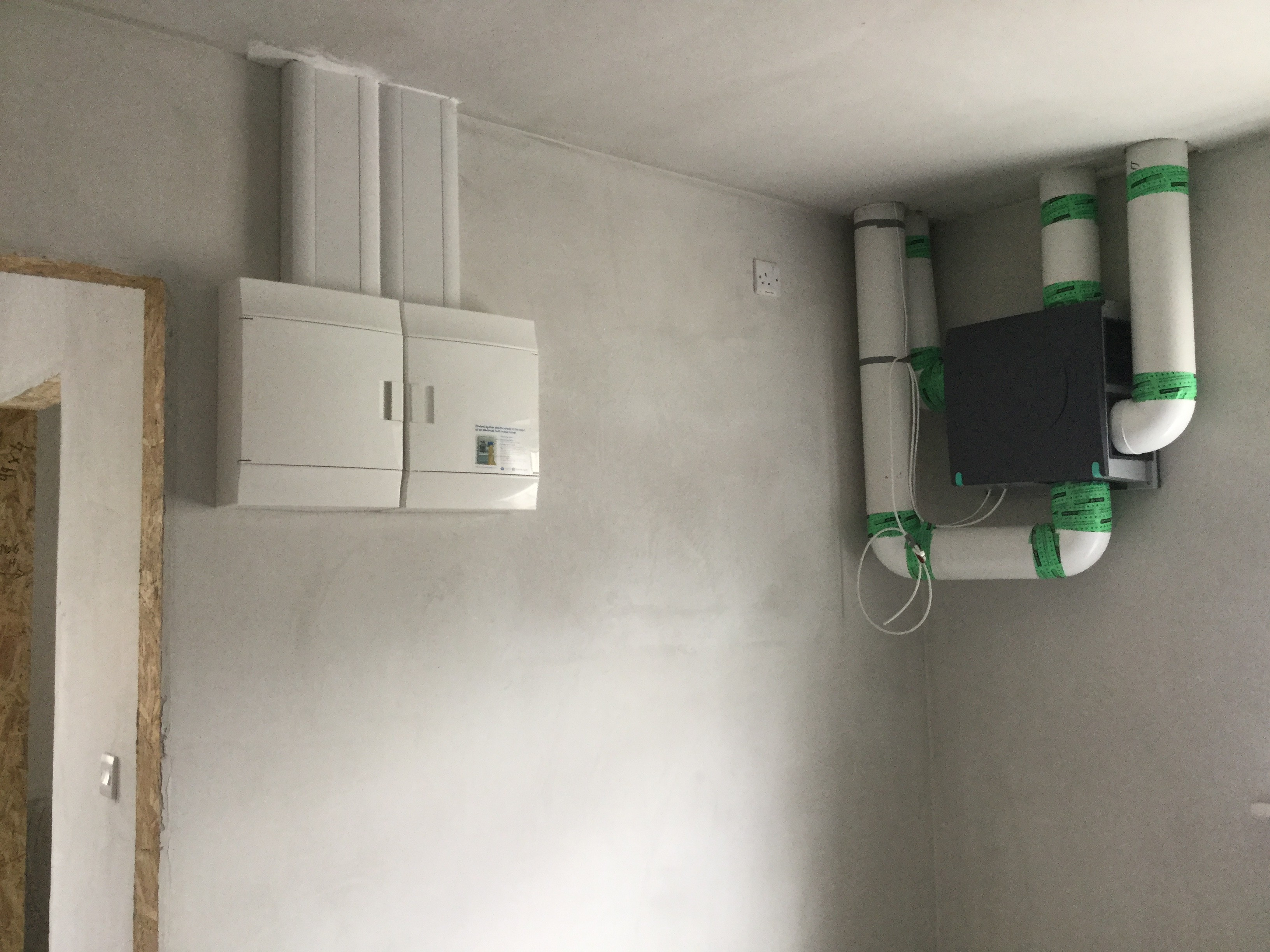 DCV System New Build | Sola Eco Build