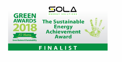 Green Awards Finalists | Sola Energy Solutions